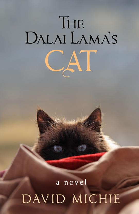 The unexpected joy of writing The Dalai Lama's Cat series