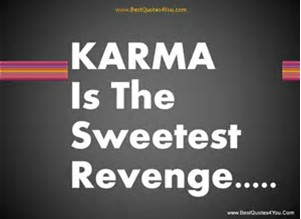 Others' bad karma is no cause to rejoice – David Michie