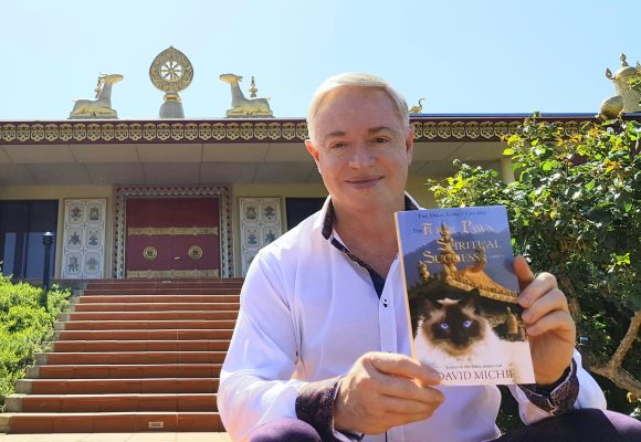 The Dalai Lama's Cat and the Four Paws of Spiritual Success.  Prologue and Chapter One here!