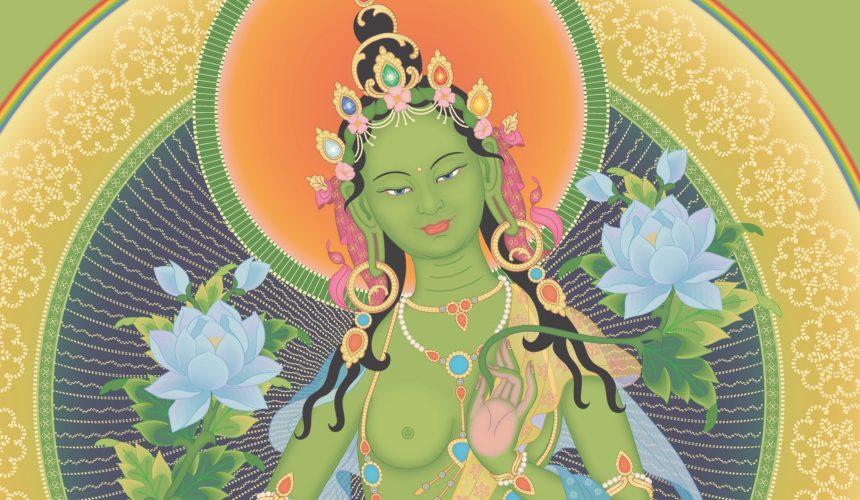 Precious opportunity to connect with my guru Zasep Tulku Rinpoche – Green Tara